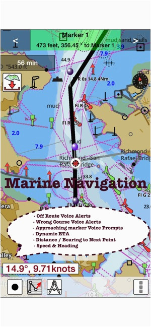i boating marine charts gps on the app store