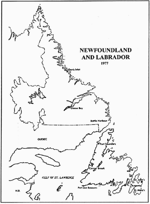 newfoundland and labrador land and property records