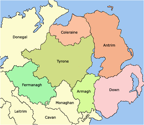 counties of northern ireland wikipedia