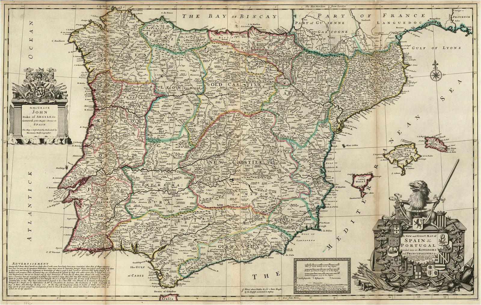 file spain and portugal herman moll 1711 jpg wikimedia
