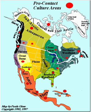 map of pre contact indian nations story of the world volume 3