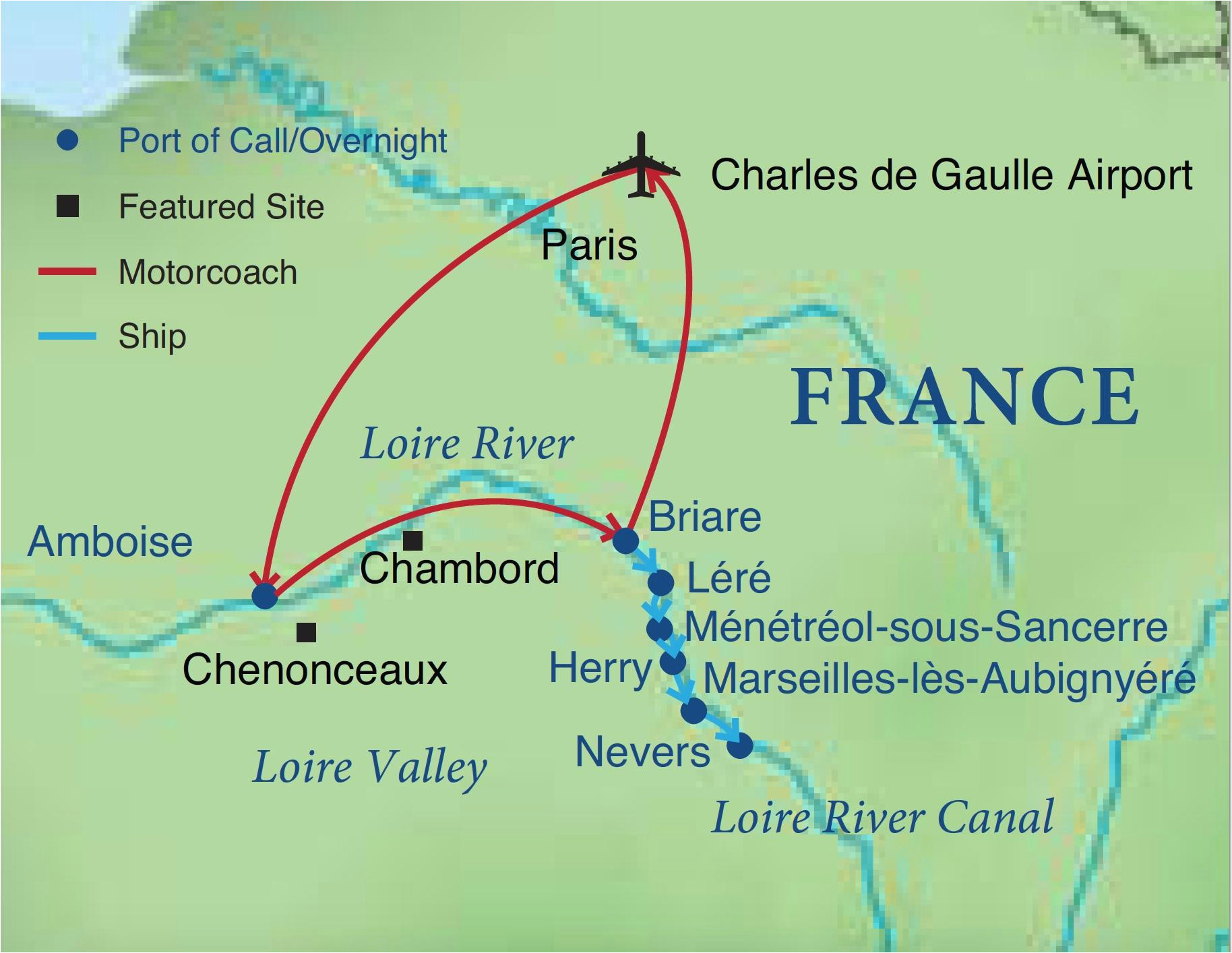 cruising the loire canal smithsonian journeys