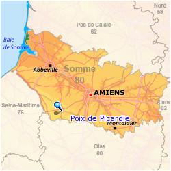 poix de picardie area of france where my terrell ancestors