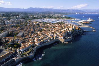 french riviera map and guide travel antibes antibes france