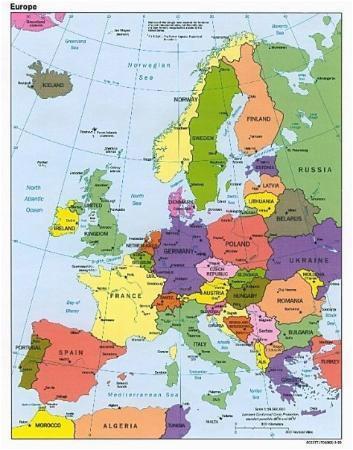 map of europe picture of benidorm costa blanca tripadvisor