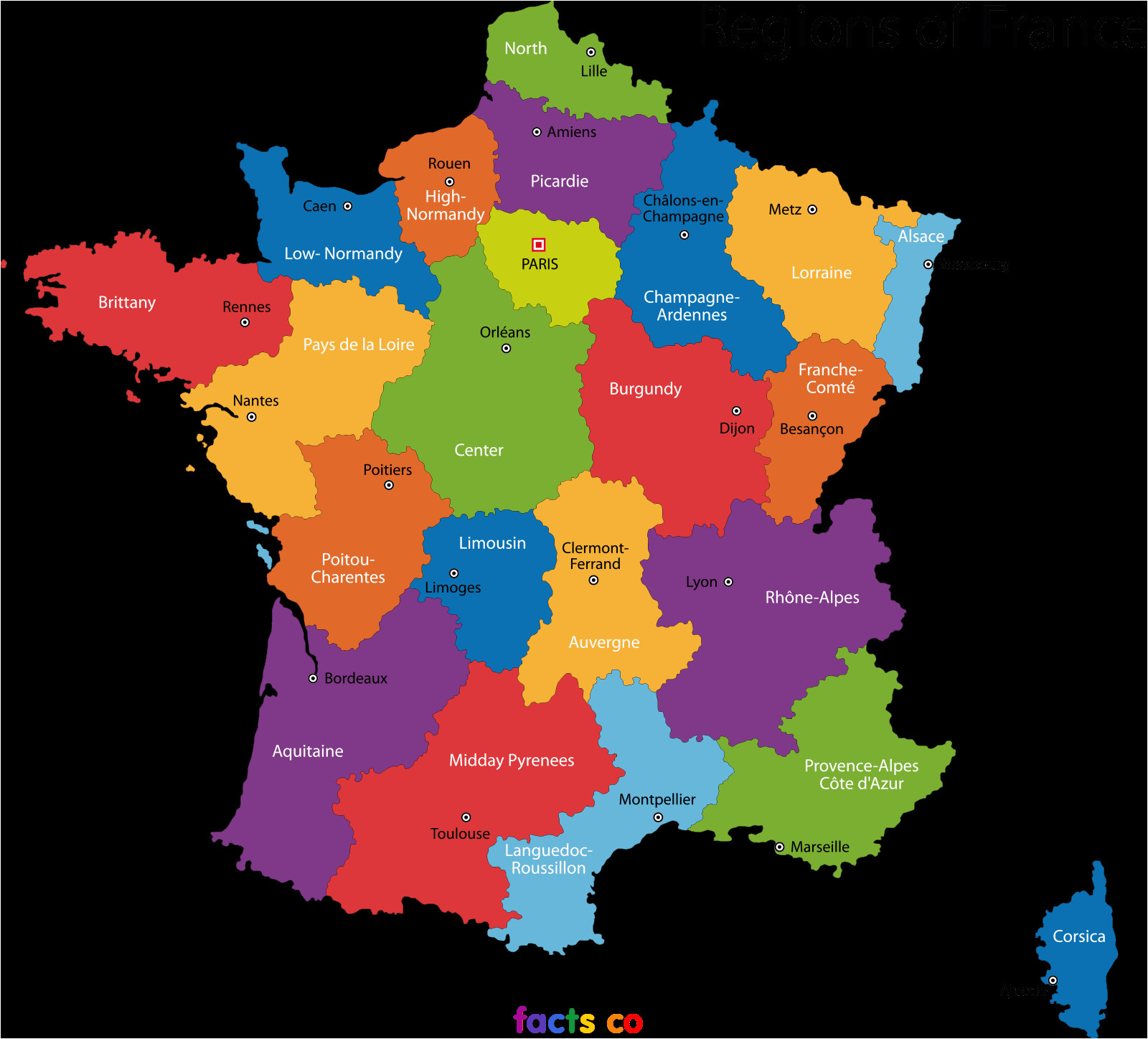 Map Of Bretagne Region France Pin by Ray Xinapray Ray On Travel France France Map France