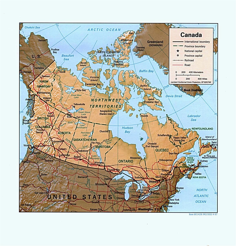 map of canada canada map map canada canadian map worldatlas com