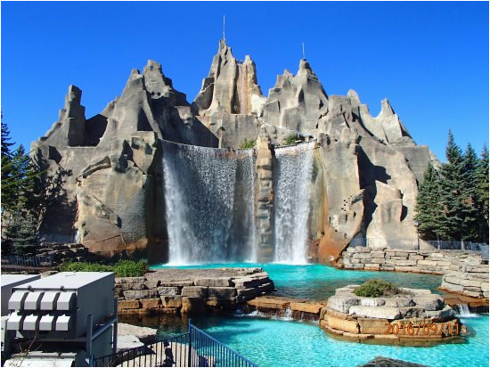 canada s wonderland thunder ride mountain view picture of