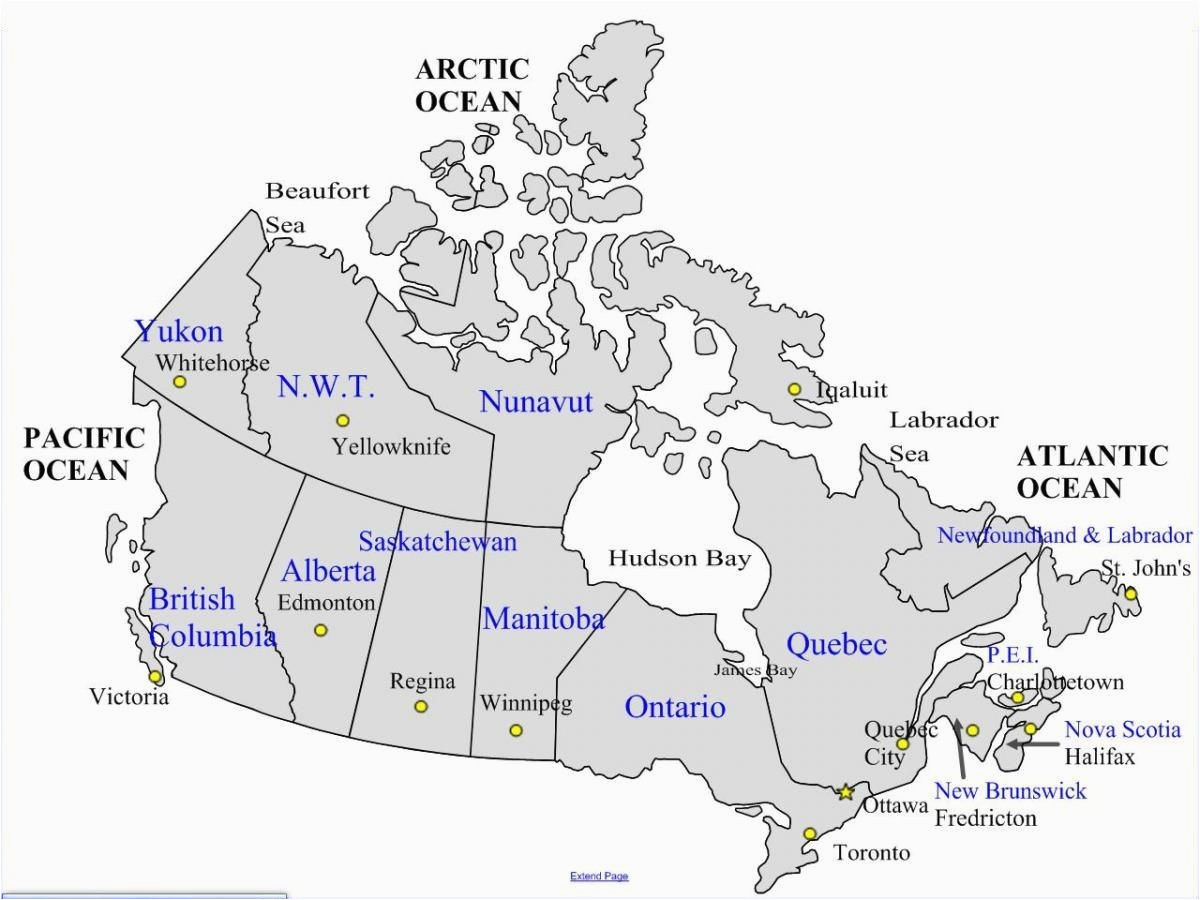915 A Map Of Canada With Provinces And Capitals Wiring Library