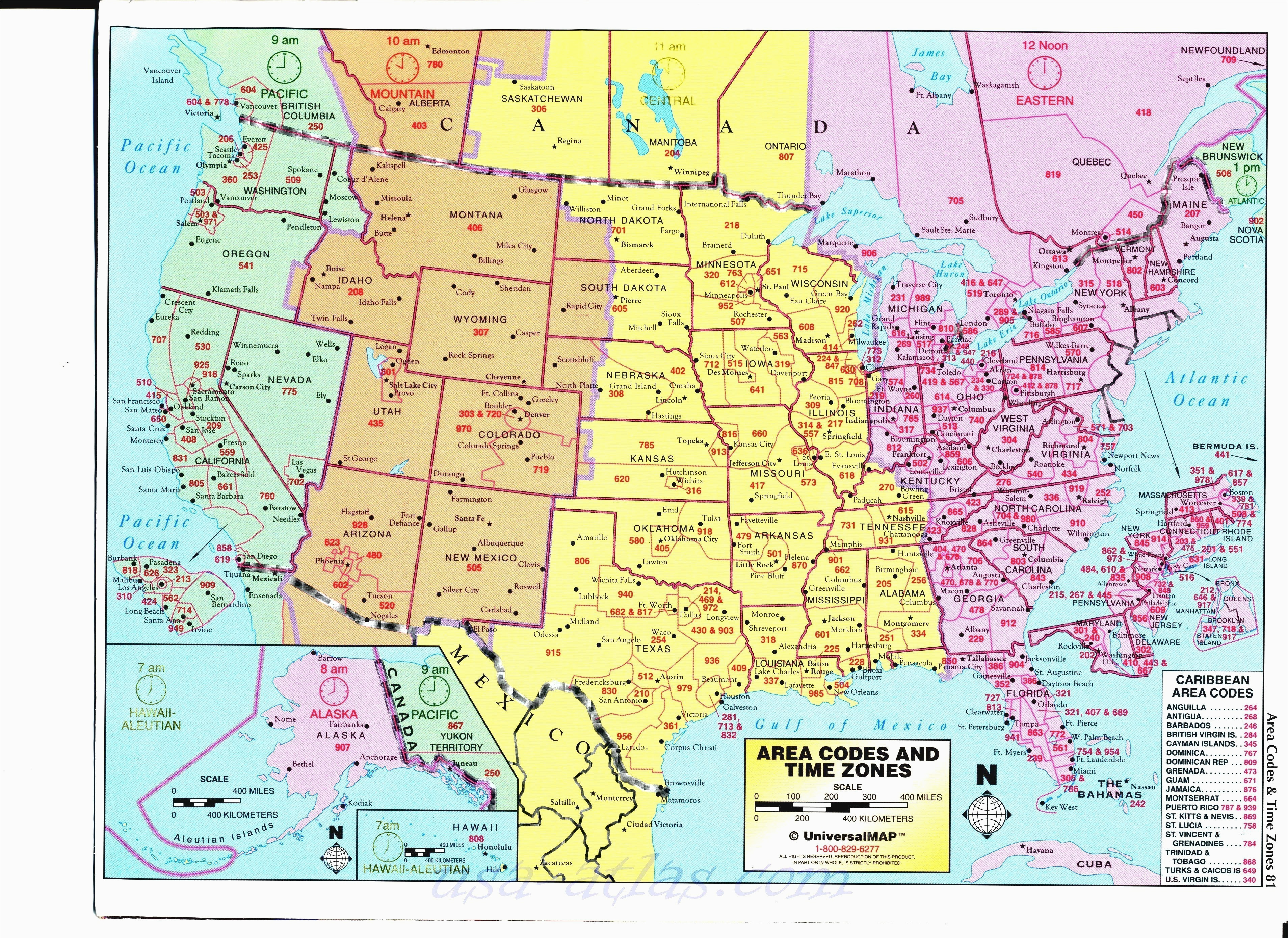 awesome us map of states timezones time zone map usa full size