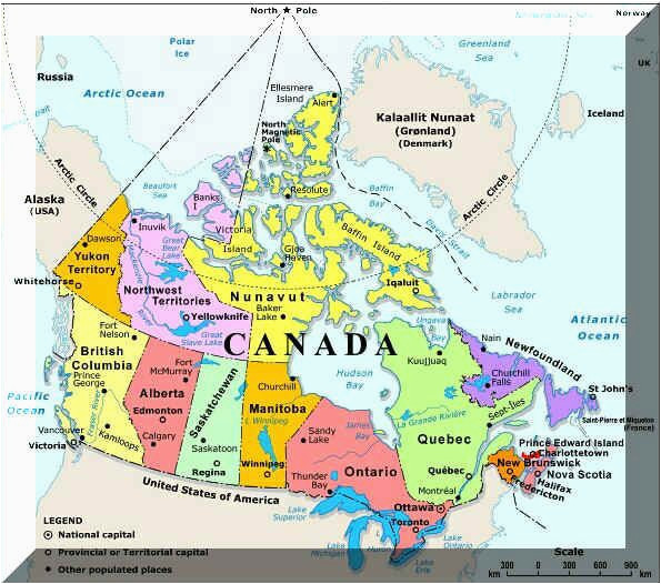 Map Of Canada with Cities and Provinces Plan Your Trip with these 20 Maps Of Canada