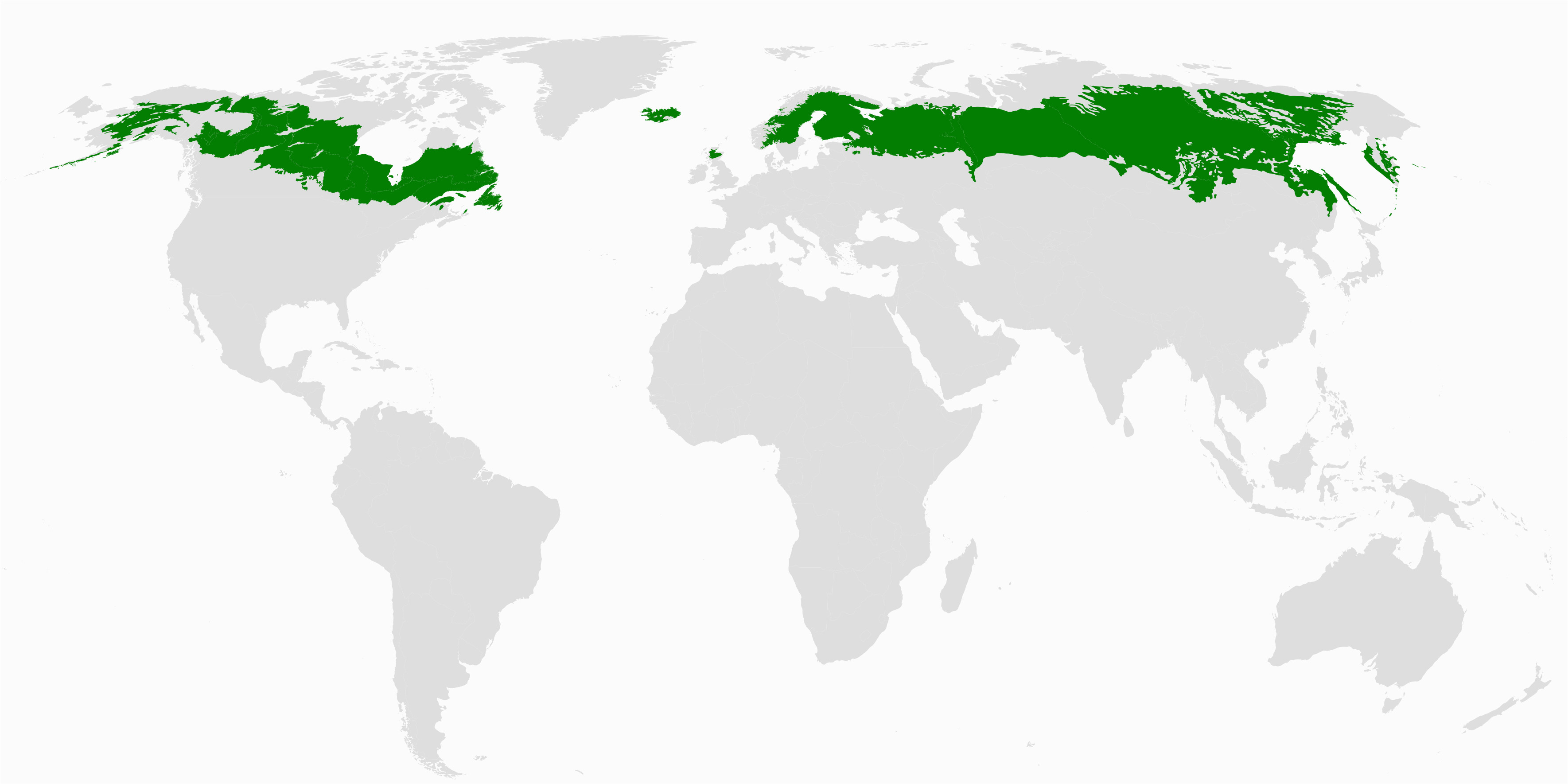 boreal forest of canada wikipedia