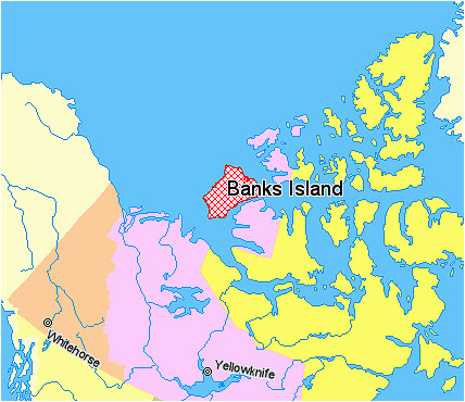 file map indicating banks island northwest territories canada png