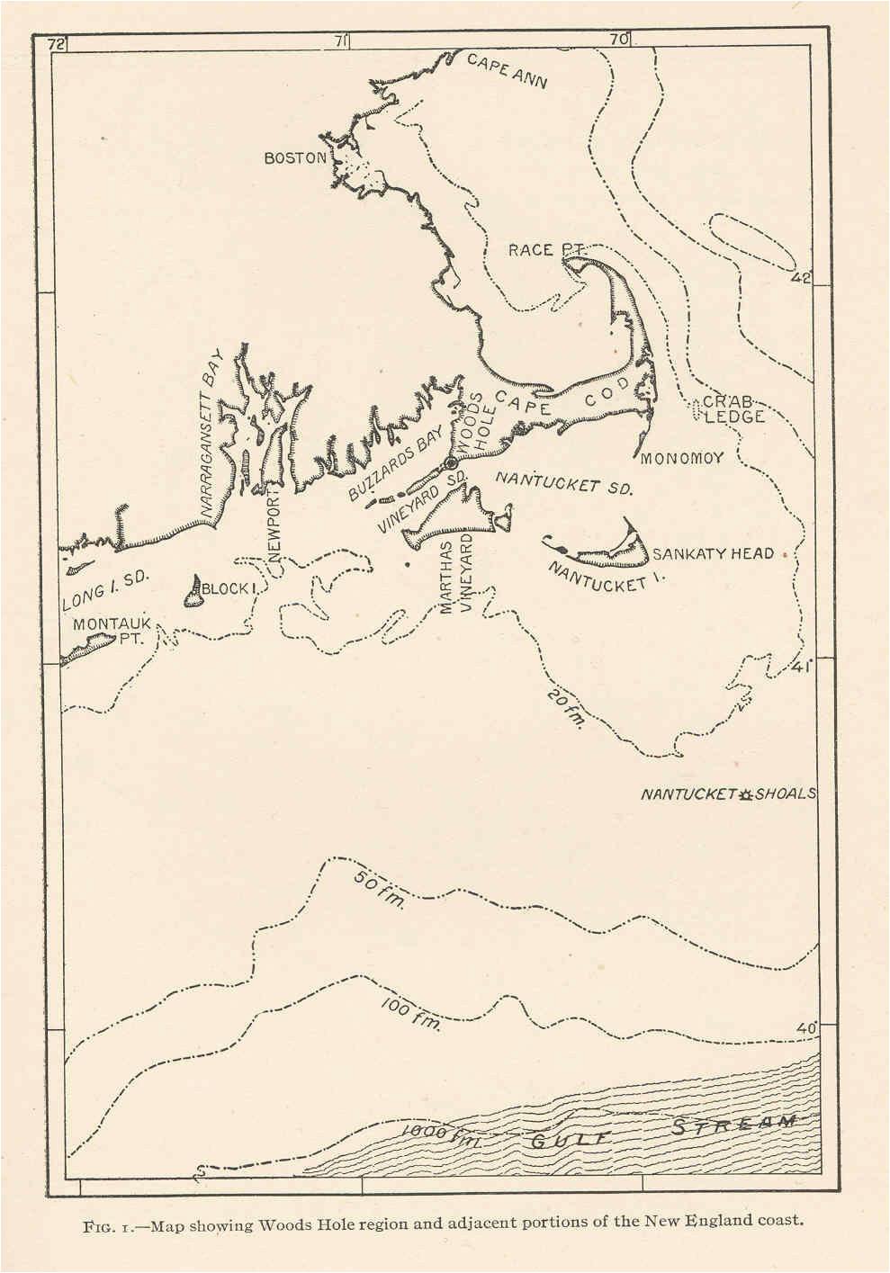 file fmib 42289 map showing woods hole region and adjacent