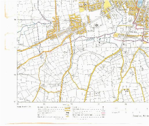1964 osi map of cork city cork past present