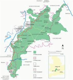 9 best cotswolds map images in 2018 british isles cotswolds map