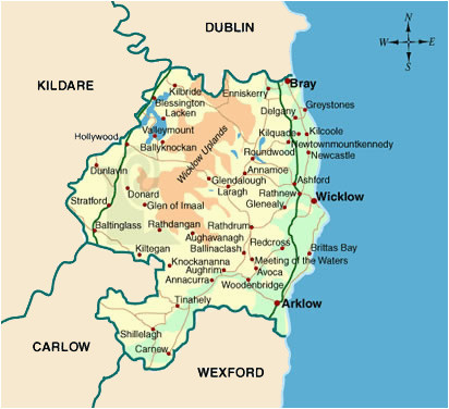 Map Of County Wicklow Ireland Map Of County Wicklow Local Enterprise Office Wicklow