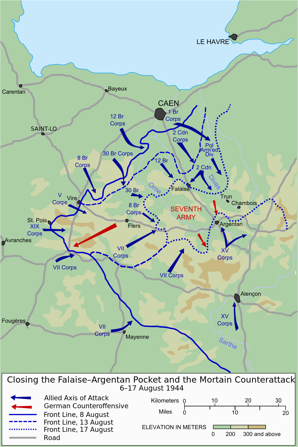 falaise pocket wikipedia