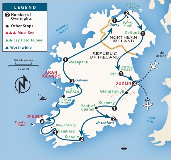 ireland itinerary where to go in ireland by rick steves