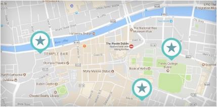 dublin tourist map visit dublin visit dublin