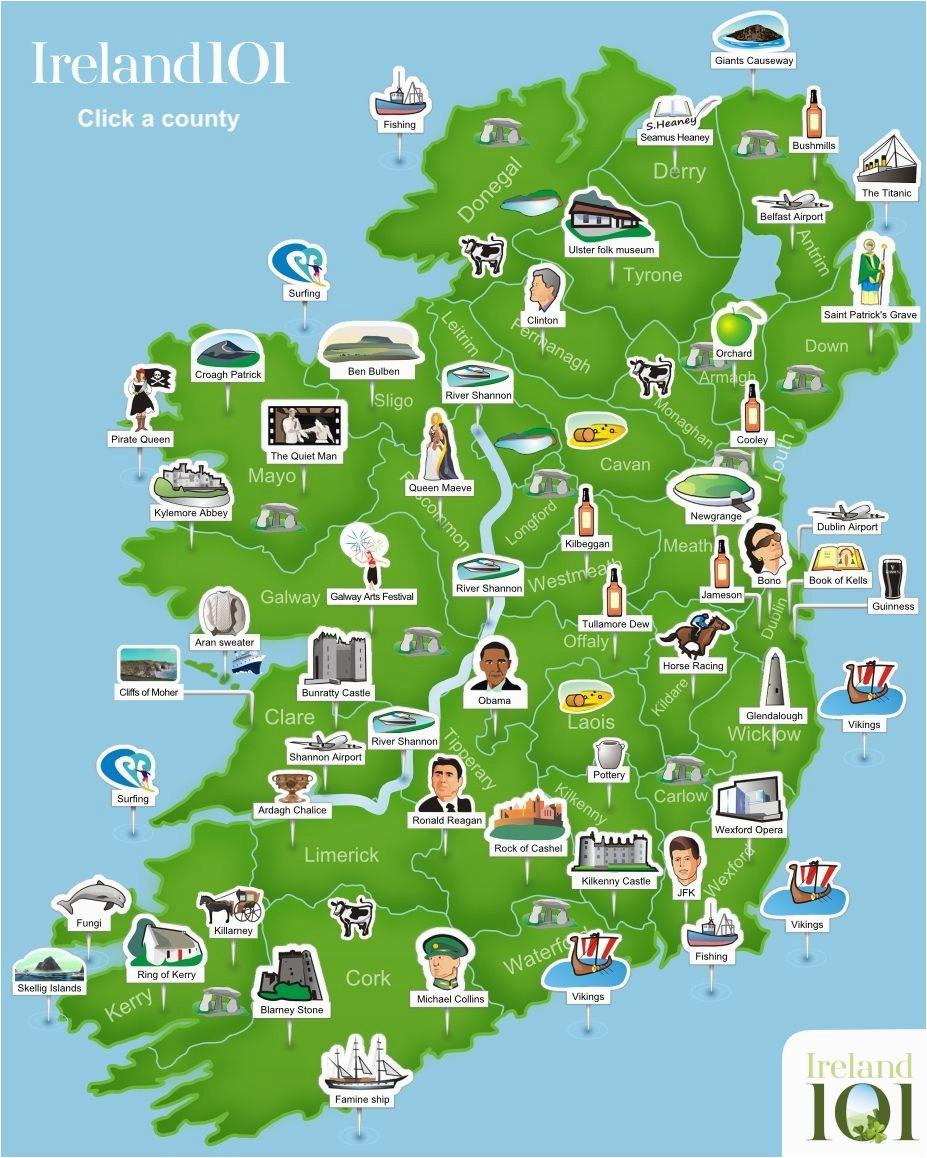map of ireland ireland trip to ireland in 2019 ireland map