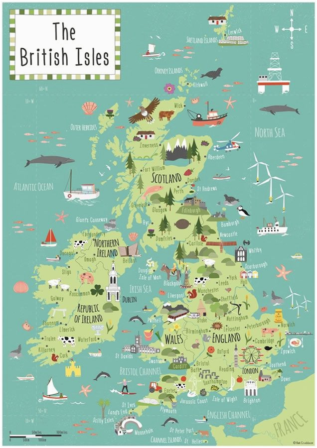 british isles map bek cruddace maps map british isles