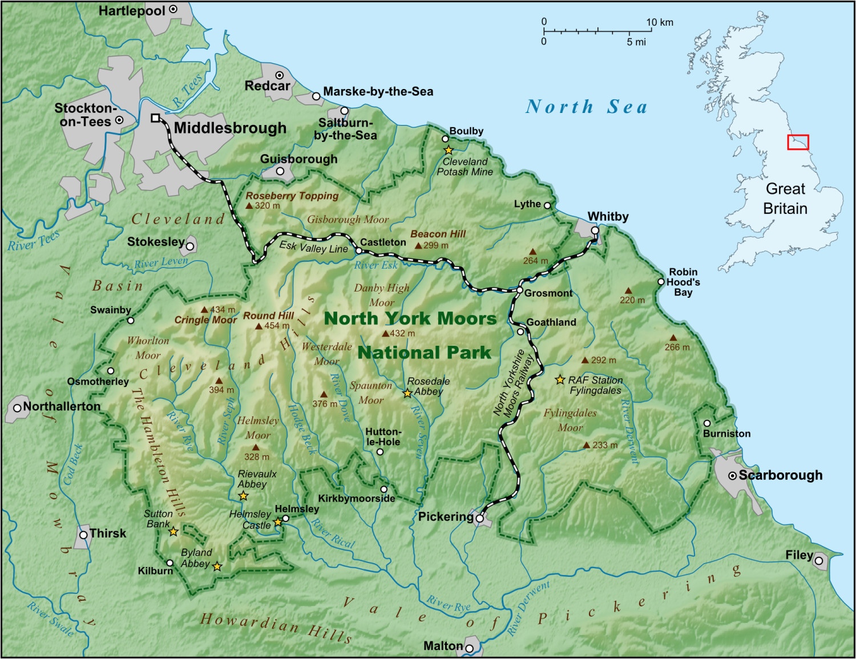 north york moors wikipedia