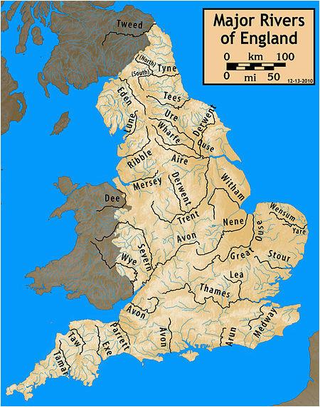 longest rivers of the united kingdom revolvy