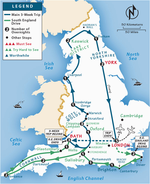 england itinerary where to go in england by rick steves