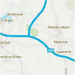 trap s green stratford on avon area information map