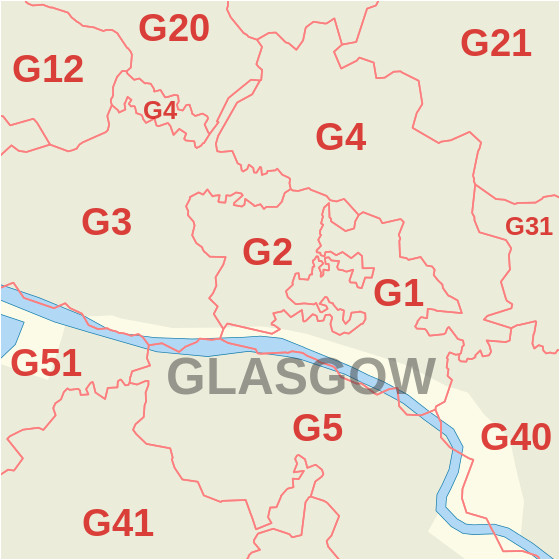 g postcode area wikipedia