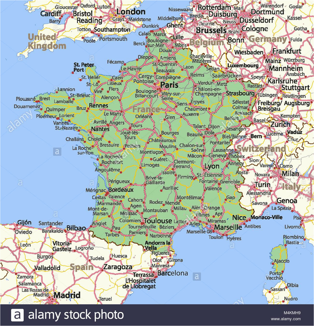 outline map france stock photos outline map france stock
