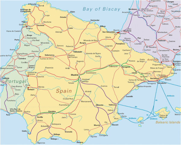 map of spain france and italy map of france spain and portugal