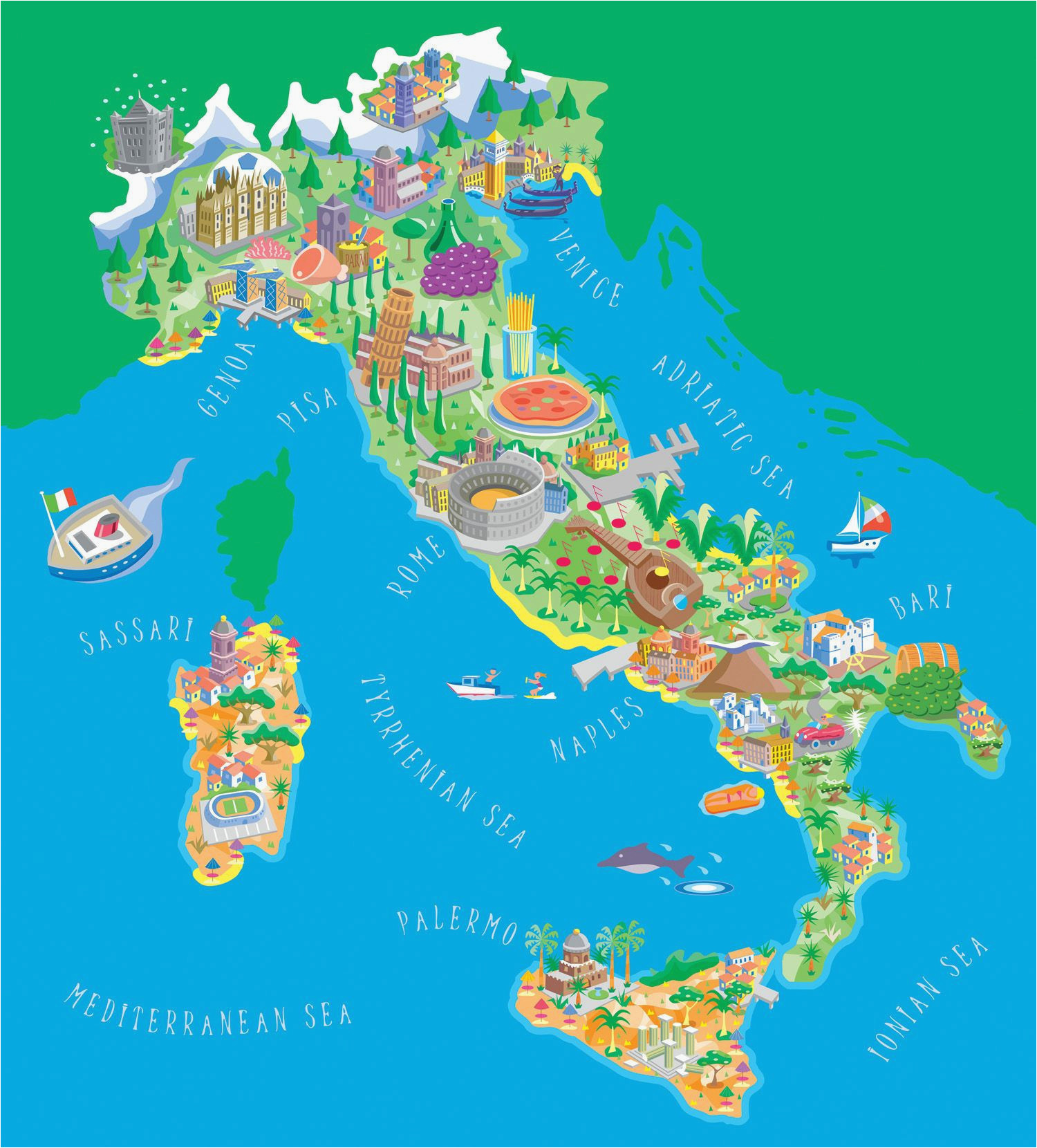 borders of italy map secretmuseum