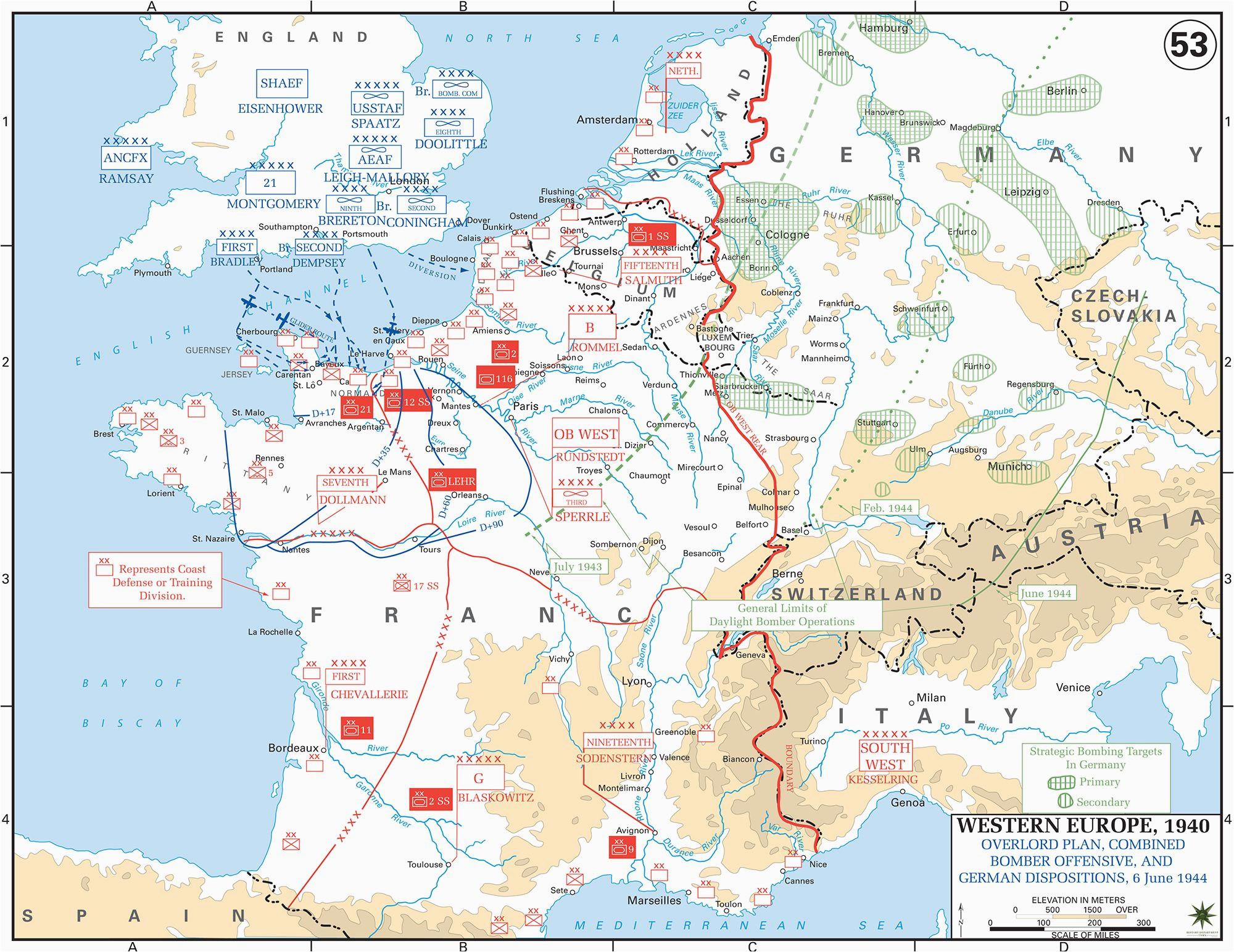 pin by richard wakeland on world war 2 france map map