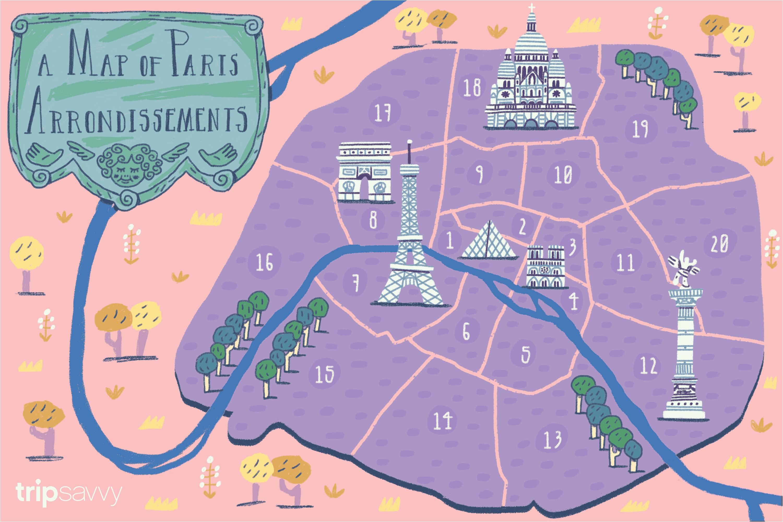 paris arrondissements map and guide