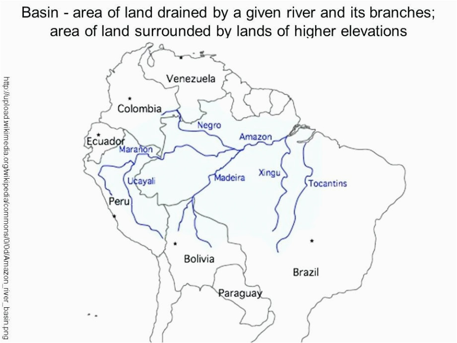 south america map andes mountains climatejourney org