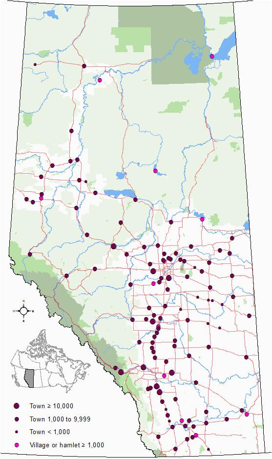 list of towns in alberta wikipedia