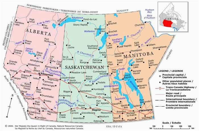 Map Of Grande Prairie Alberta Canada Plan Your Trip with these 20 Maps Of Canada