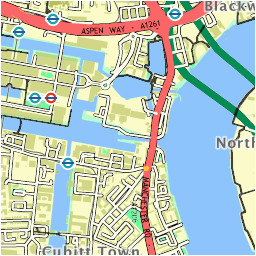 walkit com london walking directions from greenwich to canary wharf
