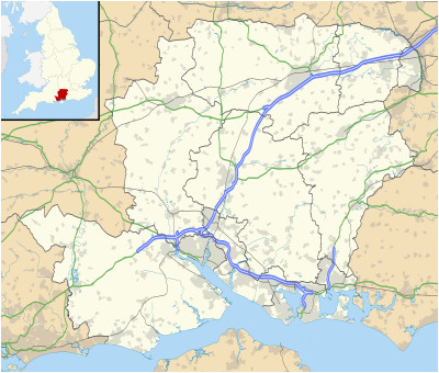 list of places in hampshire wikipedia