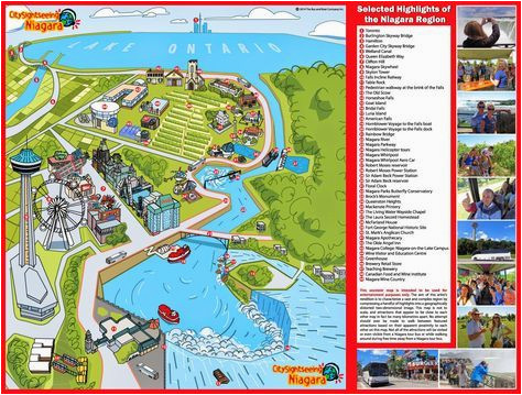 Map Of Hotels In Niagara Falls Canada Niagara Map Niagara Falls In 2019 Visiting Niagara Falls