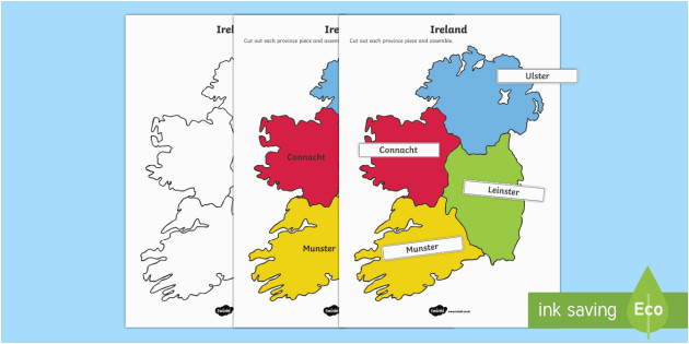 build ireland provinces and counties jigsaw worksheet activity sheets