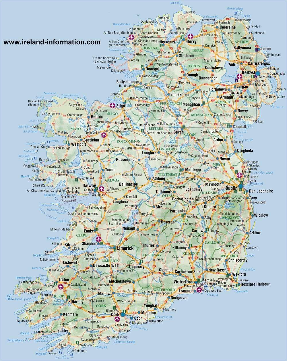 most popular tourist attractions in ireland free paid attractions