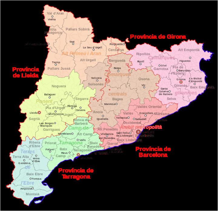 catalonia the catalan language 10 facts maps miro map