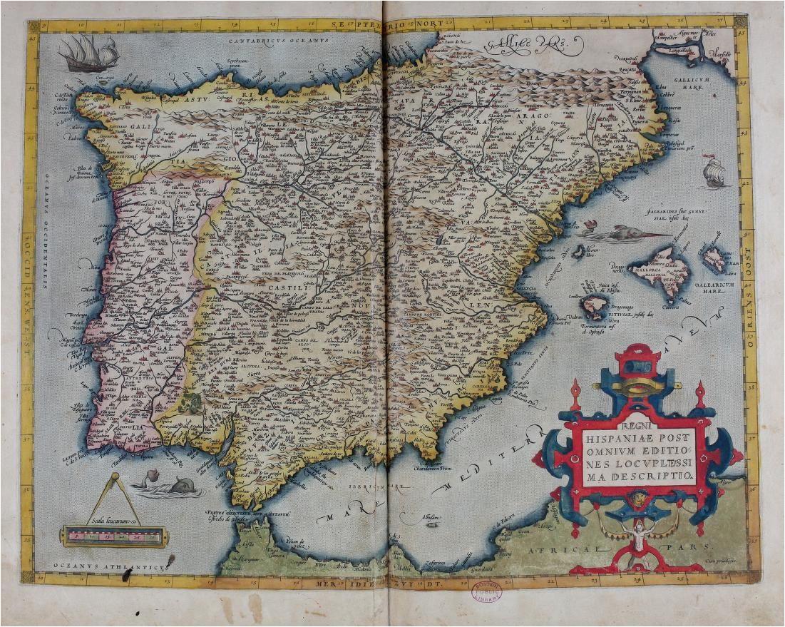 1570 theatrum orbis terrarum by ortelius abraham art
