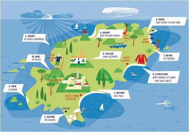 ibiza map ibiza in 2019 ibiza ibiza spanje en vakantie
