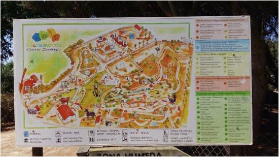 zoo map picture of lloc de minorca menorca tripadvisor
