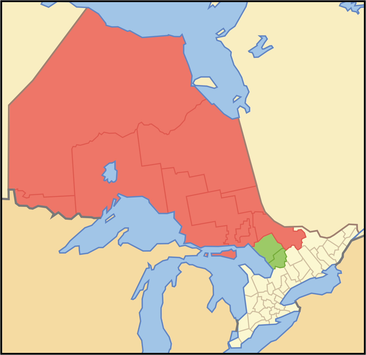 northern ontario wikipedia