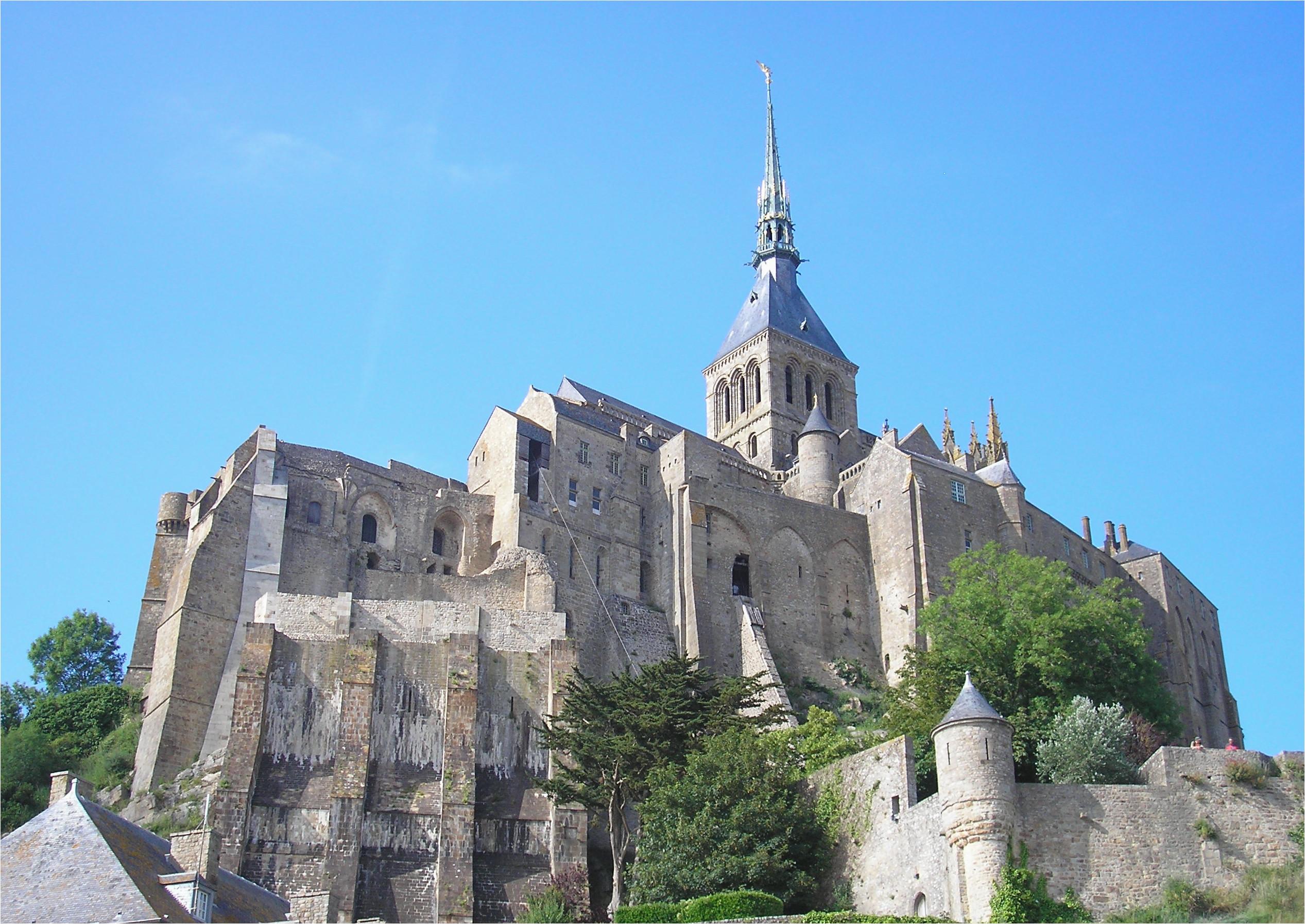 mont saint michel abbey wikipedia